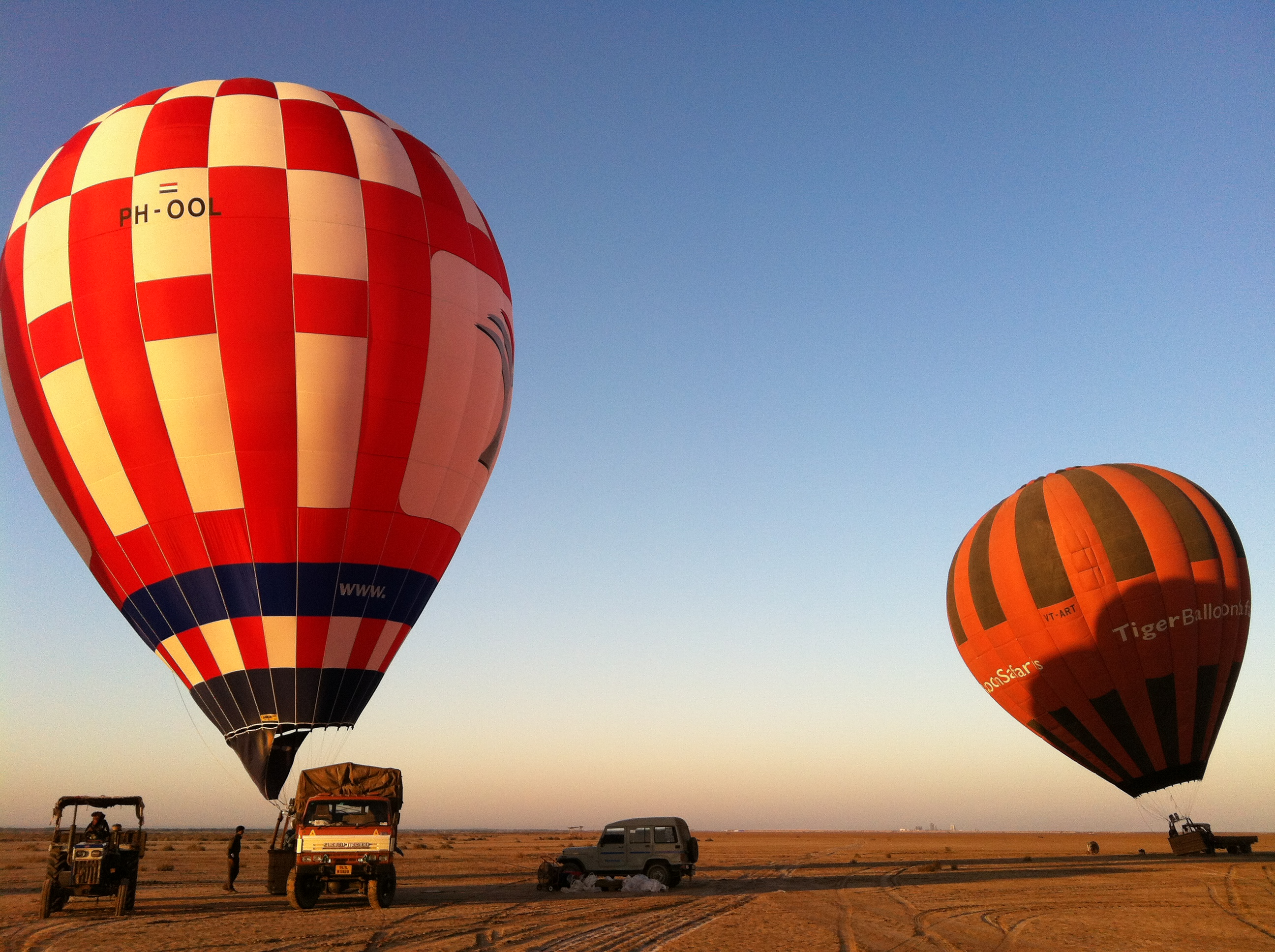 Hot Air Balloon Ride at South Goa