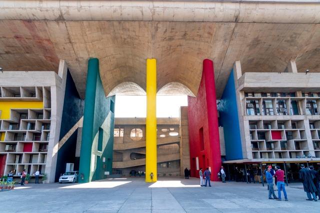 Le Corbusier Tour Chandigarh / Punjab