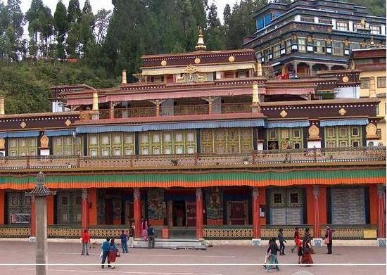 Excursion to Rumtek Monastery Gangtok / Sikkim