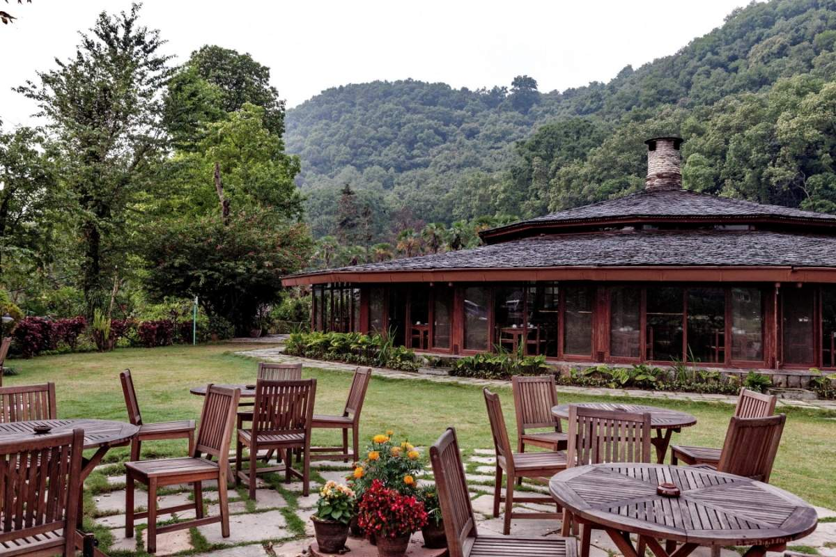 Fish Tail Lodge Pokhara outside dining.jpg