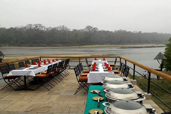 Jungle Villa Resort Chitwan dining.jpg