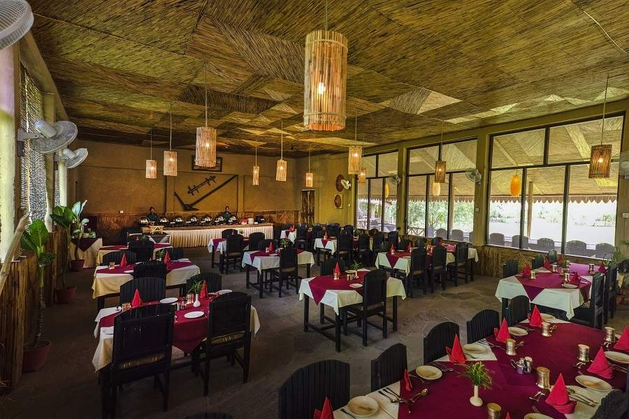 Tigerland Safari Resort Chitwan dining.jpg